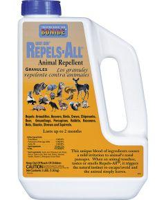 Animal Repellent, 3 lb. Bottle, Tan, Granular, 5000 sq-ft