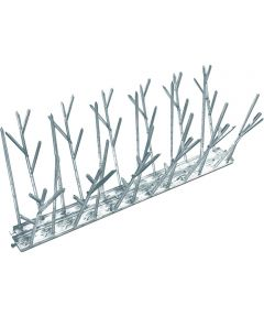 Bird Spike Kit, 4.3 in. (L) x 1 in Standard, 1/2 in Narrow W, 10 ft Coverage