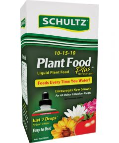 Schultz All-Purpose Fast Release Plant Pood, 4 oz., Bottle, Light Blue, Liquid