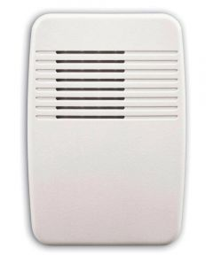 White Wireless Doorbell Add On Chime