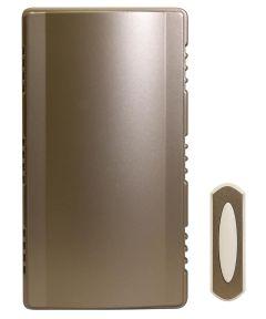 Satin Nickel Finish Wireless Doorbell Kit