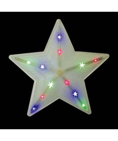 18 in. LED Shooting Star Christmas Decoration