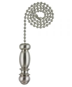 Westinghouse Pendant Pull Chain, Brushed Nickel