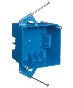 4 in. Square 32 Cubic Inch 4 Gang Switch & Outlet Box