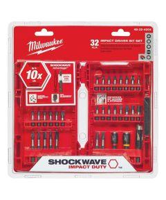Milwaukee SHOCKWAVE 32 Piece Impact Duty Driver Bit Set