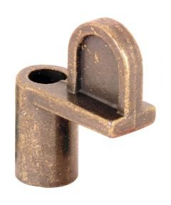 L 5789 Diecast Window Clips, 7/16-Inch, Bronze,(Pack of 8)