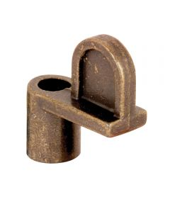 L 5826 Window Screen Clip, 5/16 in. with 1 in. Screw, Diecast Zinc Bronze, 8 Pack