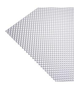 23.75 in. x 47.75 in. Clear Prismatic Optix Acrylic Lighting Panel