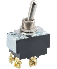 DPST Toggle Switch (15 Amp-125 Volt x 10 Amp-277 Volt)