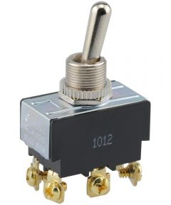 DPDT Center Off Toggle Switch (20 Amp-125 Volt x 10 Amp-277 Volt)