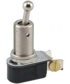 Long Shank Toggle Switch (2 in. Overall x 6 Amp-125 Volt x 3 Amp-250 Volt)