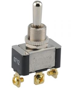 Normally Off Screw Terminal Momentary Switch (20 Amp-125 Volt x 10 Amp-277 Volt)