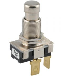Normally Off Quick Connect Terminal Momentary Switch (15 Amp-125 Volt x 10 Amp-250 Volt)