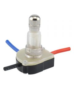 2-Speed Rotary Switch w/ Leads (6 Amp-125 Volt x 3 Amp-250 Volt)