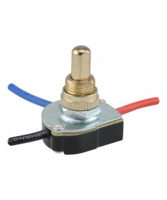 2-Speed Fan Push Switch (6 Amp-125 Volt x 3 Amp-250 Volt)
