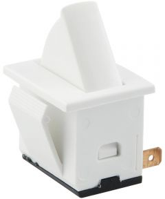 SPST Normally Off Rocker Switch (5 Amp-125 Volt x 2.5 Amp-250 Volt)