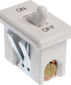 White Range Switch (20 Amp-125 Volt x 10 Amp-250 Volt)