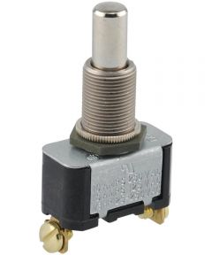 Normally Off Screw Terminal Momentary Switch (15 Amp-125 Volt x 10 Amp-250 Volt)