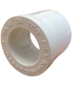 1 in. x 1/2 in. PVC Bushing, S x S