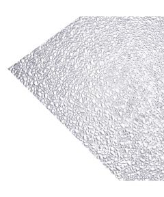 23.75 in. x 47.75 in. Clear Cracked Ice Acrylic Ceiling Lighting P