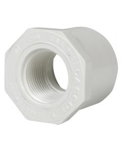1-1/2 in. x 3/4 in. PVC Bushing, S x F