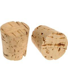 1-Gallon Bottle Size Cork Stopper (1-1/4 in. Top Dia. x Size #14)