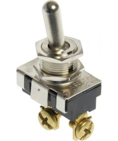 SPST Toggle Switch (15 Amp-125 Volt x 10 Amp-250 Volt)