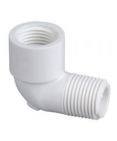 3/4 in. PVC 90 Degrees Street Elbow, M x F