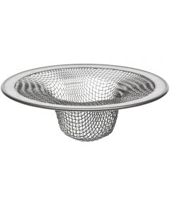 Rust Resistant Tub Strainer, 2-3/4 in., Stainless Steel