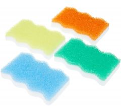 Scrub Daddy Multicolored Eraser Daddy, 2 Pack, Assorted Colors