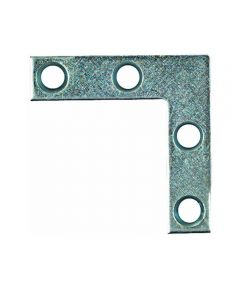 Corner Braces 2X3/8 in.  Brass