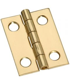 Hinges 1X3/4 in.  Sld Brass