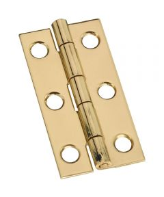 Hinges 2X1 in.  Sld Brass