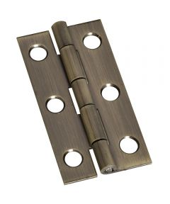 Hinges 2X1 in.  Ant Brass