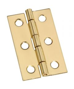 Hinges 2X1-3/16 in.  Sld Brass