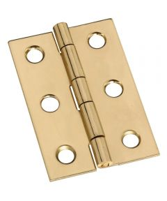 Hinges 2X1-3/8 in.  Sld Brass
