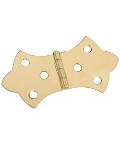 Hinge 1-11/16X3-1/16 Sld Brass