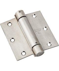 Spring Hinge, 30 lb., Stainless Steel