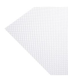 23.75 in. x 47.75 in. White Prismatic OPTIX Acrylic Lighting Panel
