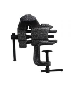 Olympia Tools Clamp Vise, 2-1/2 in. x 3 in Jaw, Cast Pipe, 2-1/2 in Jaw