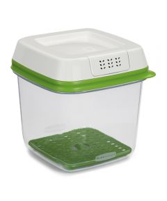 6.3 Cup Green/Clear Medium Plastic Freshworks Food