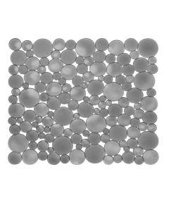 10.75 in. x 12 in. Graphite Bubbli Sink Mat