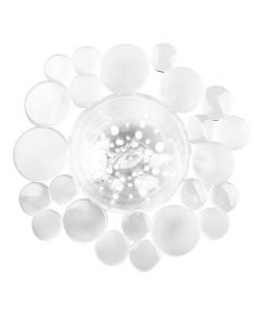 Bubbli Sink Strainer Clear