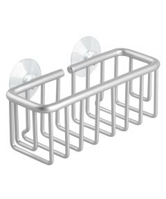 6.5 in. x 2.75 in. x 3 in. Silver Finish Aluminum Metro Suction