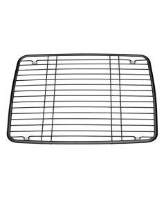 10.5 in. x 13 in. Pearl Black Matte Axis Kitchen Sink Grid