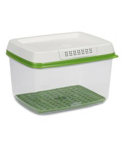 17.3 Cup Green/Clear Large Plastic Freshworks Food