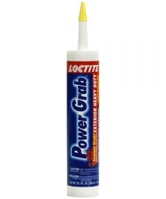 Loctite Power Grab Exterior Heavy Duty Adhesive, 10.1 oz.