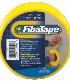 1-7/8 in. x 150 ft. Yellow Fibatape Drywall Joint Tape