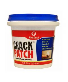 1/2 Pint Crack Patch Premium Acrylic Spackling