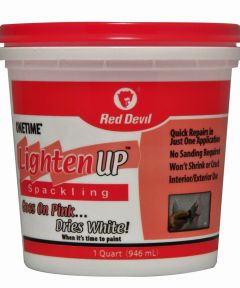 1 Quart Onetime Lighten Up Lightweight Spackling